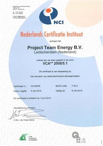Certificaat VCA